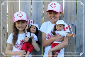 Review of Maplelea's Canada Day Outfits