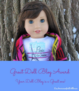 The Great Doll Blog Award!