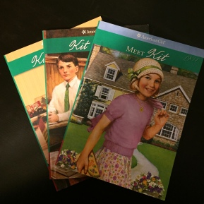 Review of American Girl Kit books 1-3