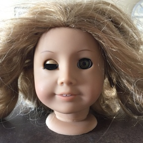 Fixing a Doll with a Broken Eye Nub