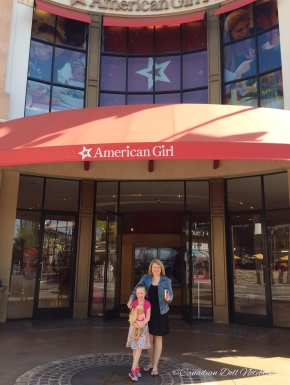 Visiting American Girl Place